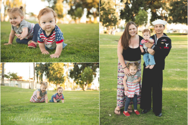 an afternoon in the glorietta bay park   |   sweet family of four  {coronado family photographer}