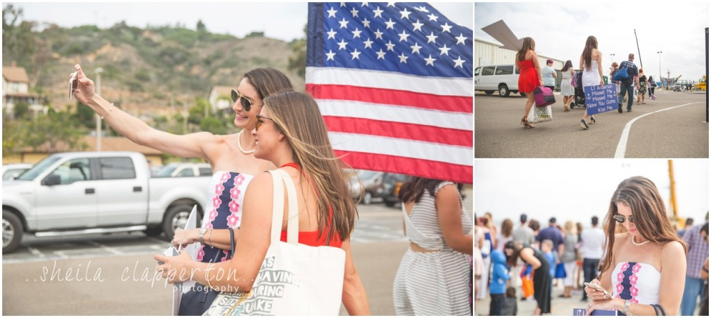 san diego military homecoming photographer