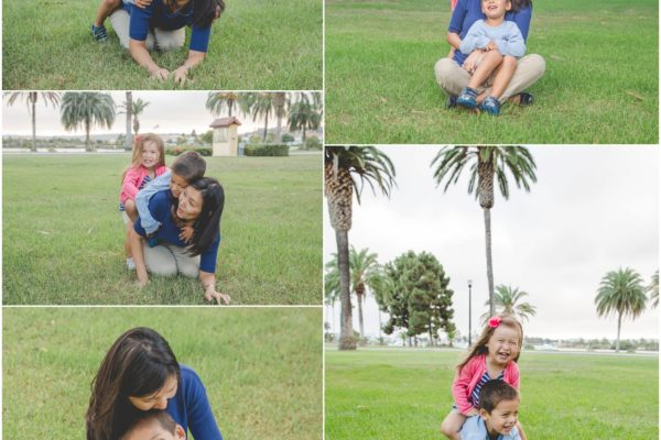 a momma and her sweet kids   |   days away from the end of daddy's deployment   {coronado photographer}