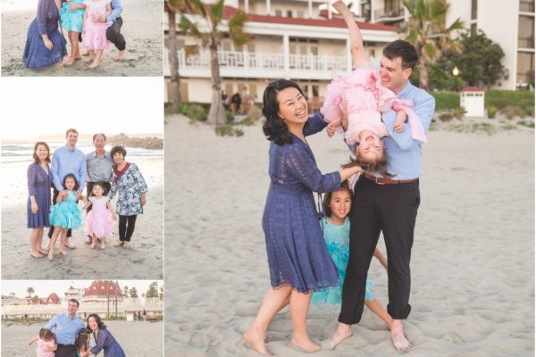 coronado family photography  |  hotel del coronado portrait photographer