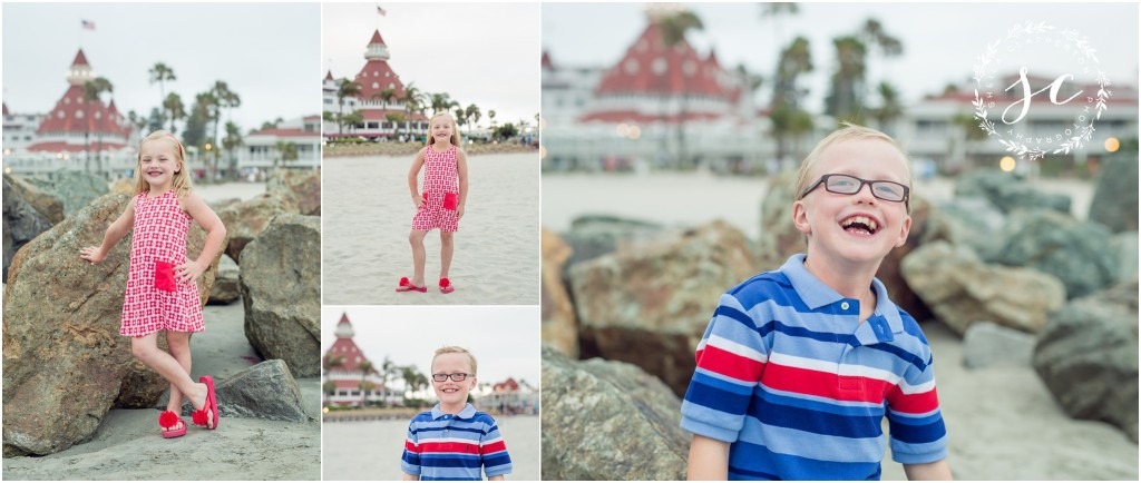 hotel del coronado family photographer