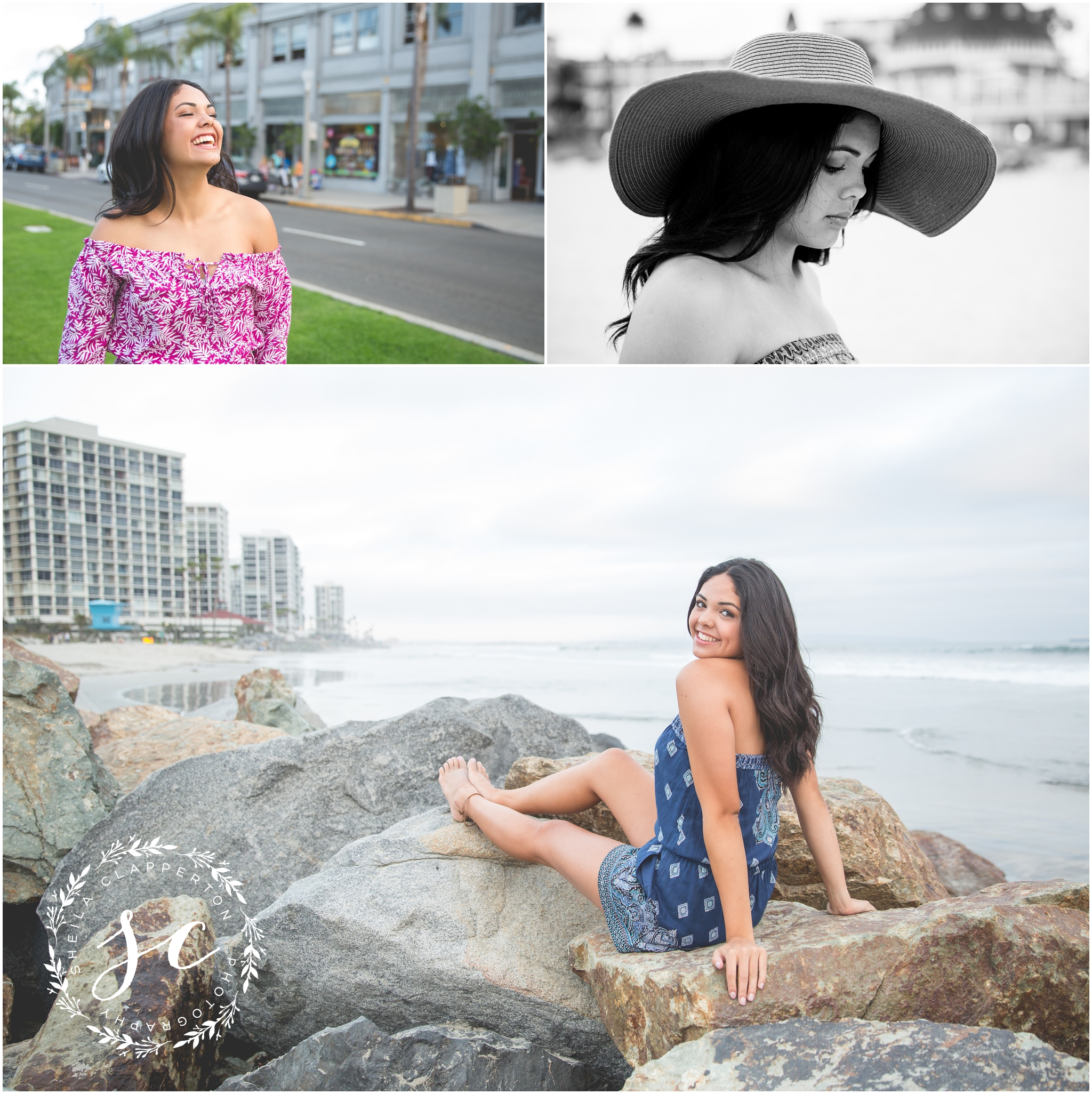san diego senior photography coronado