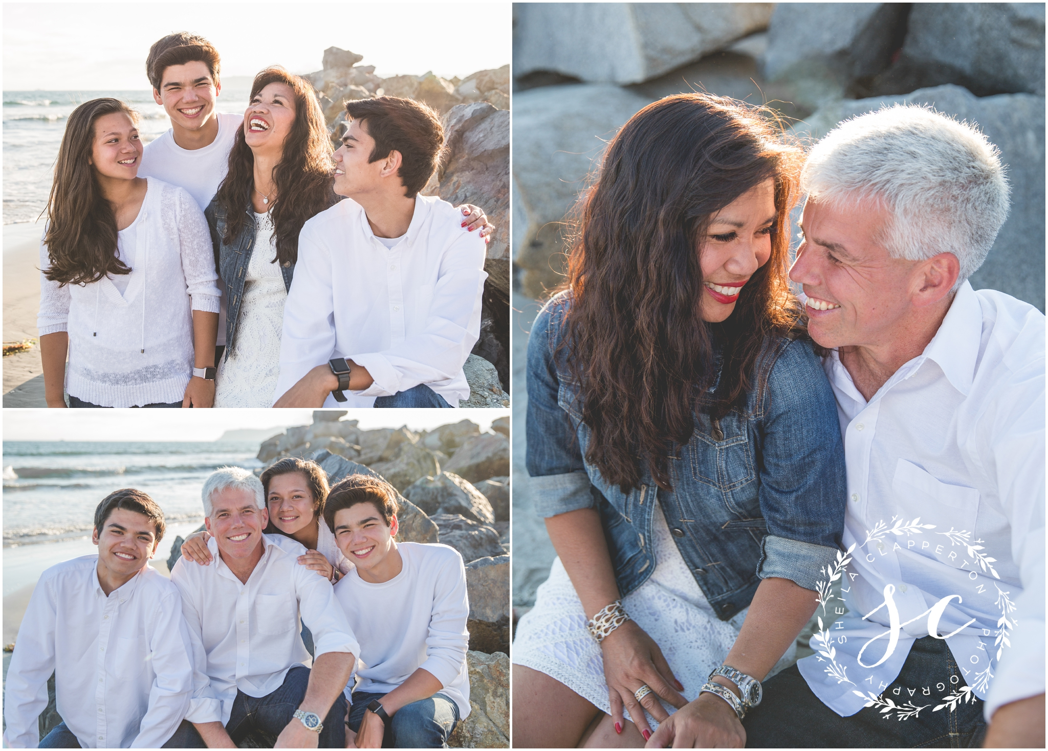 coronado beach family photos