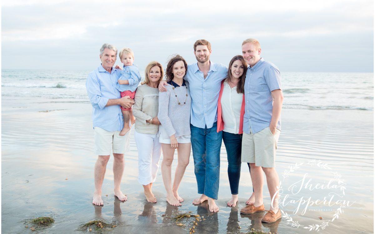MISSOURI FAMILY VACATION  |  CORONADO EXTENDED FAMILY SESSION