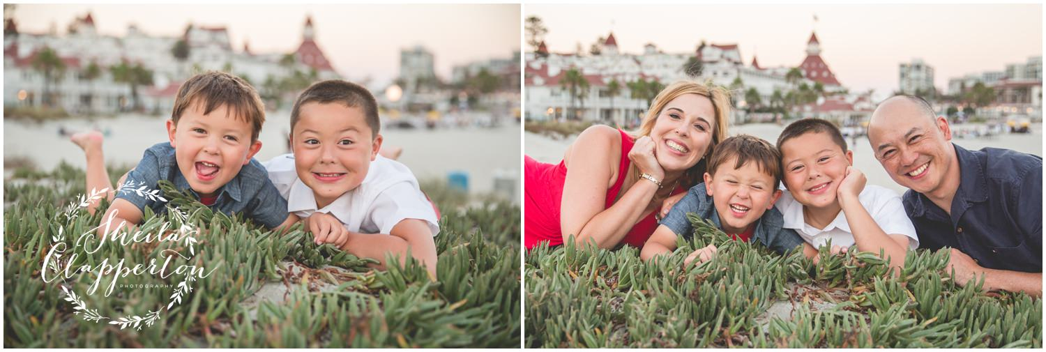 family session hotel del coronado