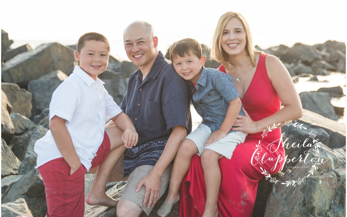 CHICAGO FAMILY FOURSOME  |  HOTEL DEL CORONADO FAMILY PORTRAITS
