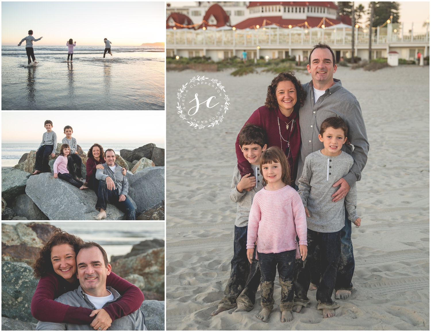 family photos hotel del coronado