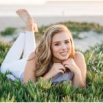 coronado beach senior photo