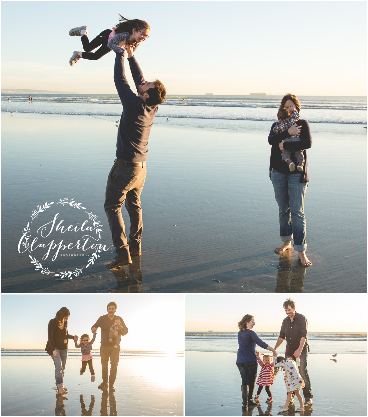 coronado beach photo session