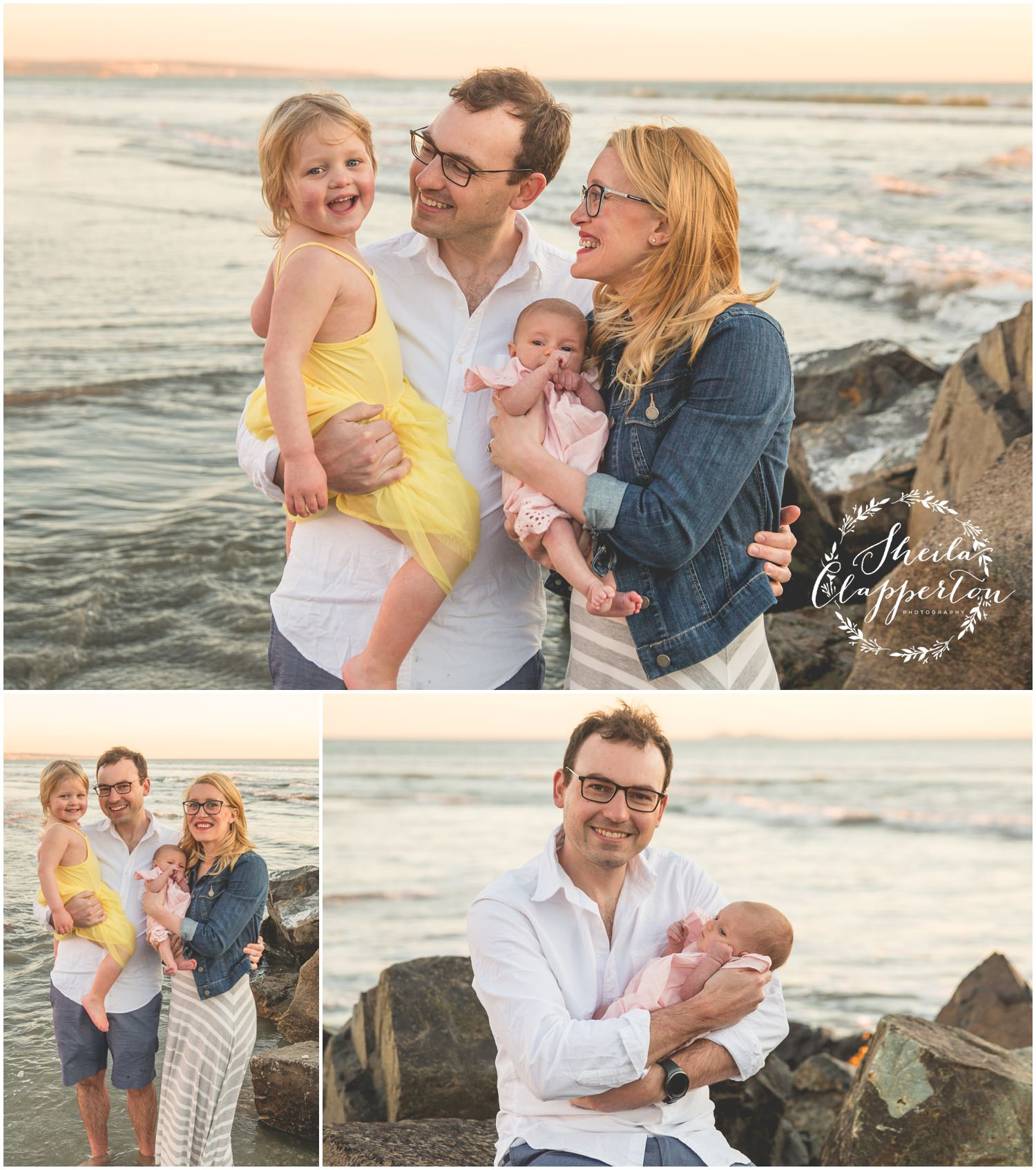 coronado beach portraits
