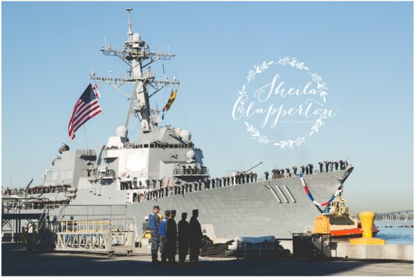 San Diego 32nd Street Naval Base  |  Military Homecoming Photographer