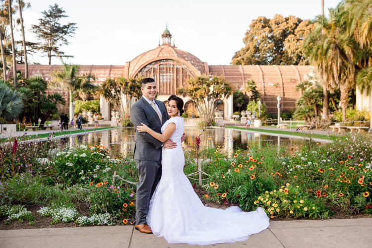san diego balboa park wedding photographer