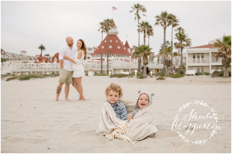hotel del coronado family portraits