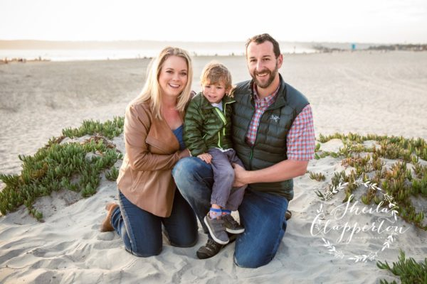 family photos at the beach {coronado photographer}