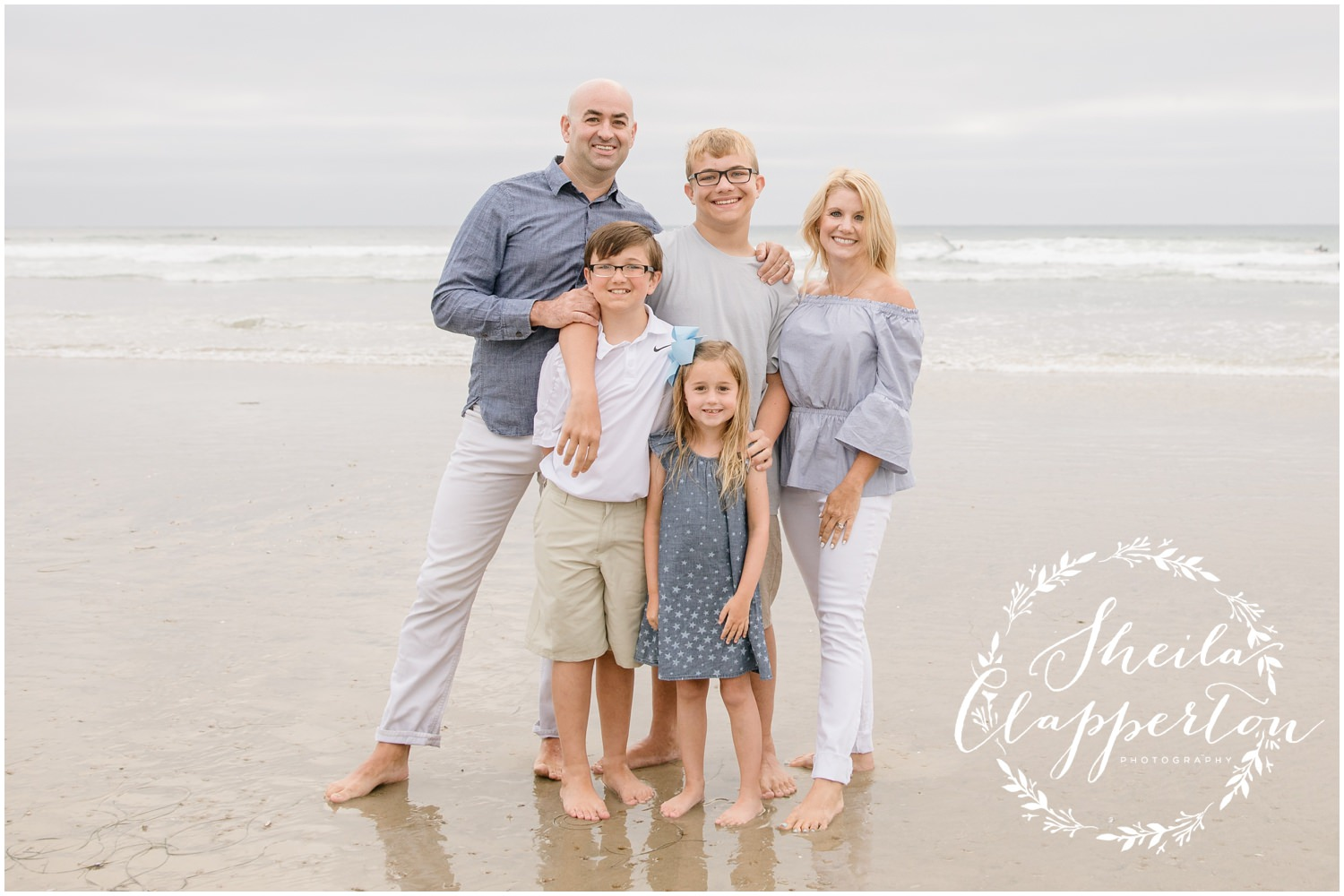 la jolla family beach session