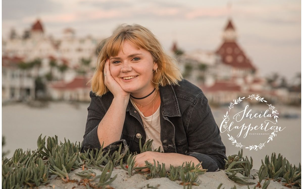 coronado ca beach photography  |  san diego high school senior photographer   {coronado senior portraits}