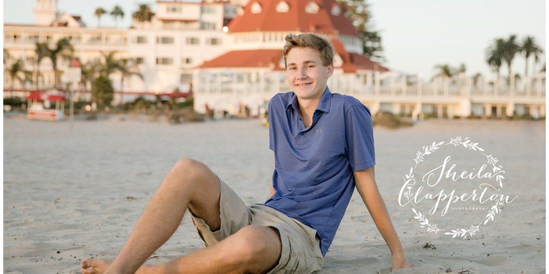 High School Senior Portrait Photographer Coronado Island