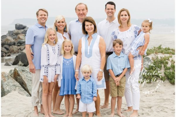 texas extended family beach portraits  |  southern california vacation {hotel del coronado photographer}