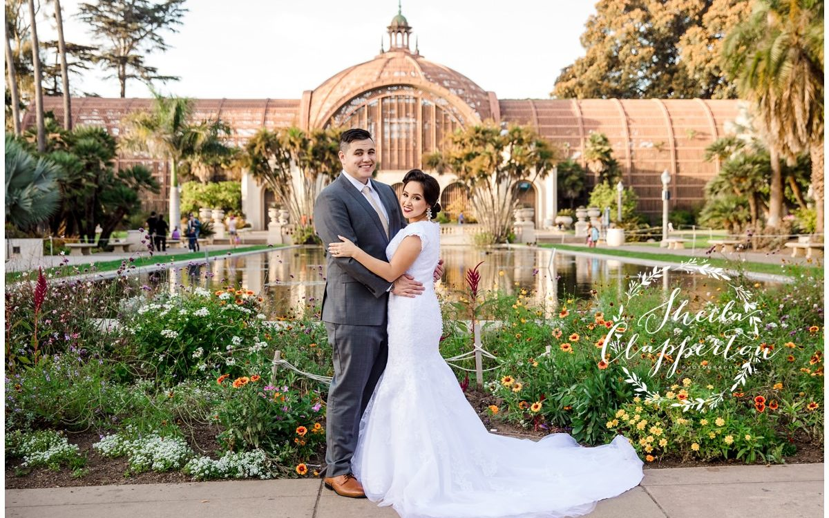 balboa park bridal session  |  san diego lds temple photographer  {coronado wedding photography}