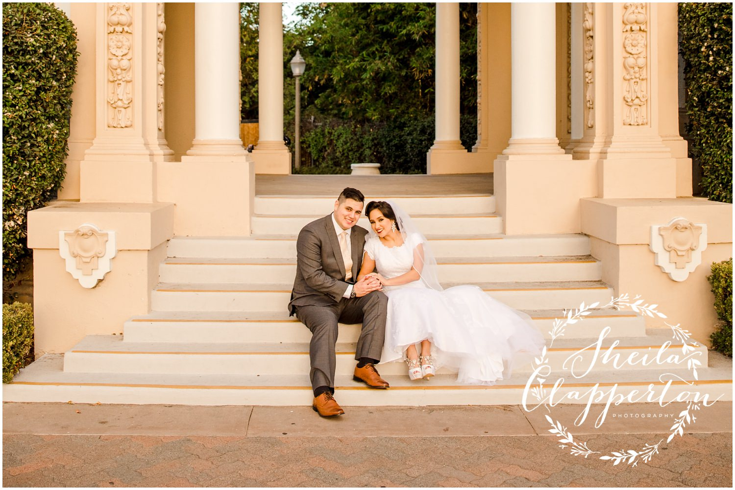 lds bridal session