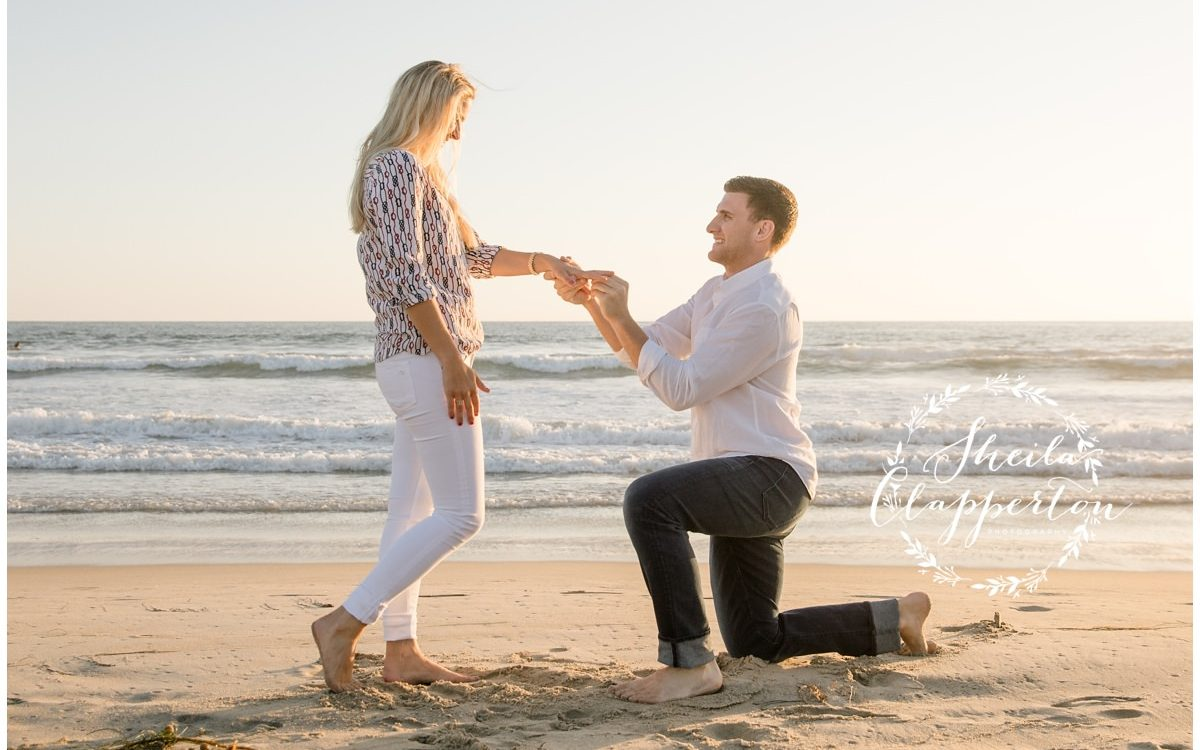 coronado beach proposal {coronado couples photographer}