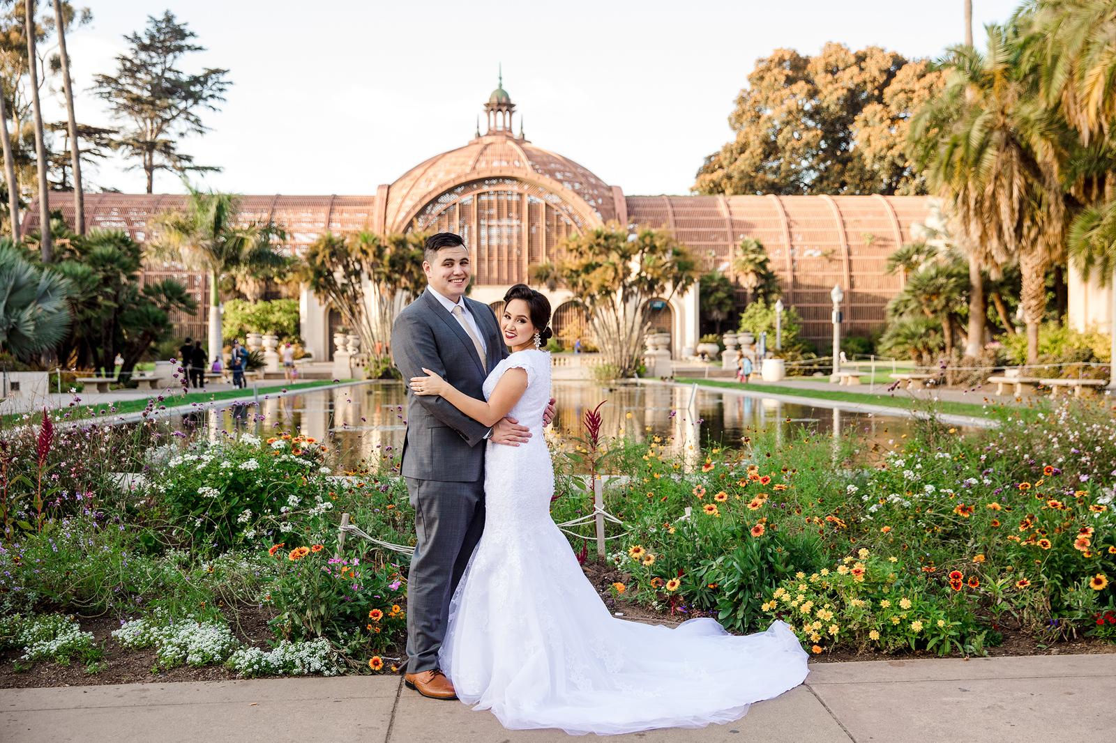san diego balboa park wedding photographer